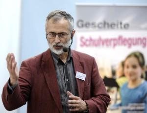 Prof. Dr. Volker Peinelt, AGS, Hochschule Niederrhein, Foto: Messe Düsseldorf / constanze tillmann)