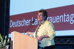 Brigitte Scherb, Präsidentin des Deutschen LandFrauenverbandes (dlv)