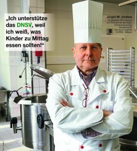 Jürgen M. Jordans Küchenchef  DGG Service und Logistik des Unterrichtswesens der DG