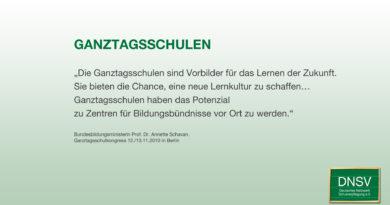 Bundestagswahl aktuell: Was sagen die Parteien zur Ganztagsschule?