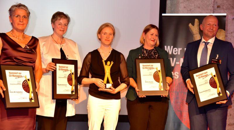GV-Manager des Jahres für die Schulverpflegung: Jana Heise von biond