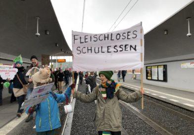 Fridays for Future fordert veganes Kita- & Schuessen