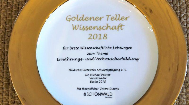 Träger Goldener Teller Wissenschaft 2021 gesucht