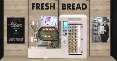 Täglich frisches Brot für die Schulmensa