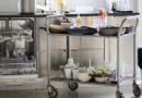 Nutzung von Haushaltsgeräten in Großküchen