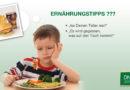 Untersuchung zum Ernährungsverhalten von Leipziger Kindern